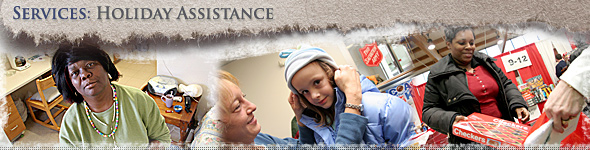 The Salvation Army offers a variety of services to help families and individuals make it through more difficult holiday seasons.
